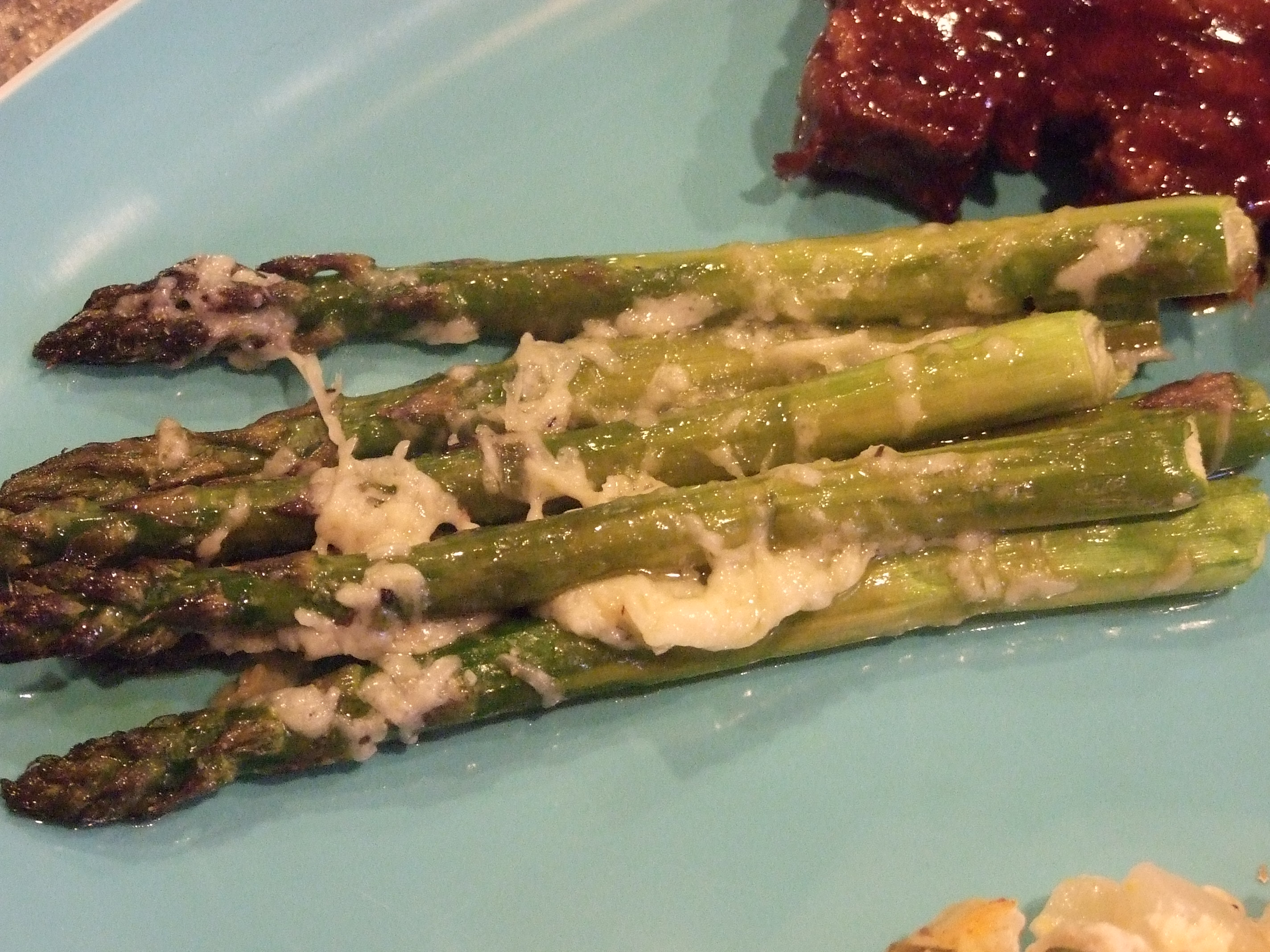 Roasted Asparagus with Parmigiano-Reggiano | The Peppertree